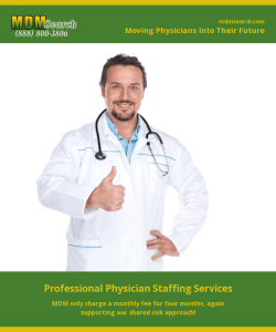 Why a Physician's Recruiting Service is Important